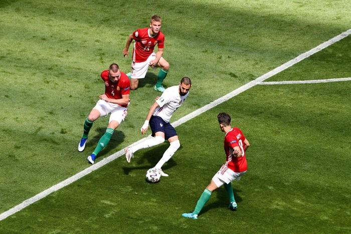 Thống kê tệ hại của Benzema tại Euro - Ảnh 1.