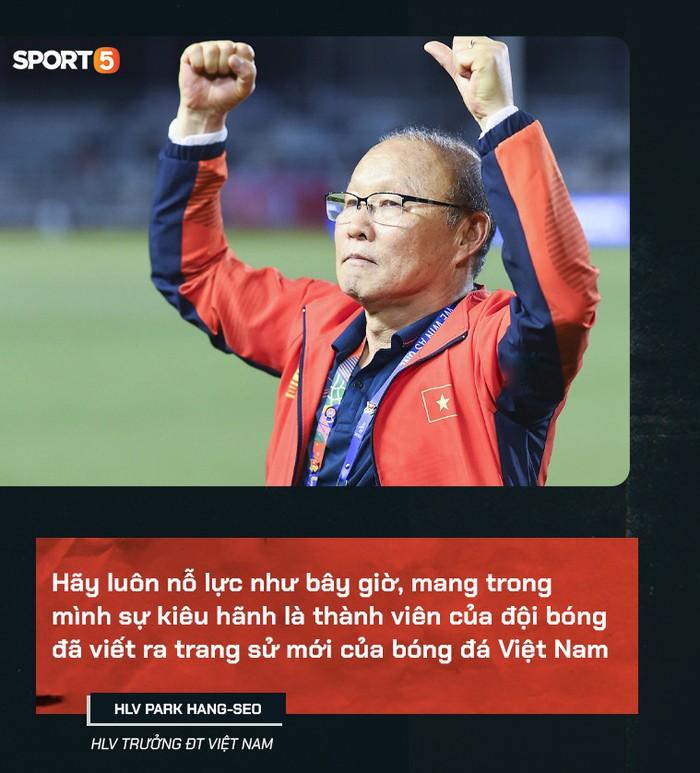 HLV Park Hang-seo viết thư gửi tuyển thủ Việt Nam trước ngày tạm chia tay: Mong các bạn luôn nỗ lực, mang trong mình sự kiêu hãnh - Ảnh 1.