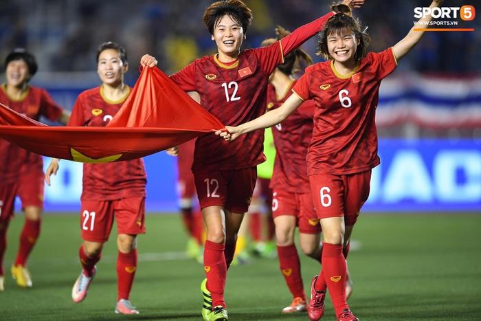 """Đội tuyển nữ Việt Nam """"sáng cửa"""" đi tiếp ở vòng loại Asian Cup nữ 2022 - Ảnh 1."""