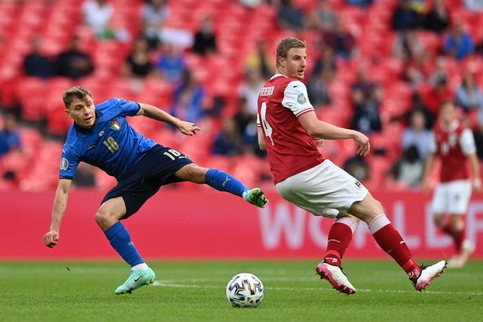 Thắng nghẹt thở Áo với tỷ số 2-1 ở hiệp phụ, Italia vào tứ kết Euro 2020 - Ảnh 4.