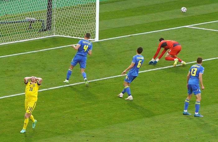 Đánh bại Thụy Điển 2-1 ở phút 120, Ukraine điền tên mình vào vòng tứ kết Euro 2020 - Ảnh 8.