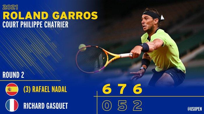 Federer thua set đầu tiên, Nadal và Djokovic thần tốc đi tiếp ở Roland Garros - Ảnh 12.