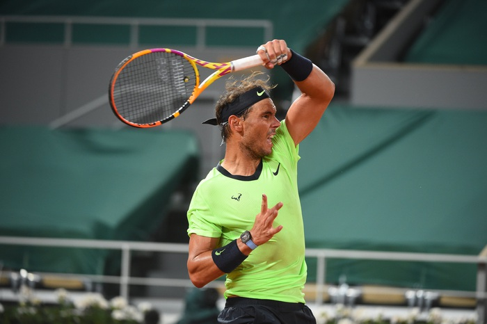 Federer thua set đầu tiên, Nadal và Djokovic thần tốc đi tiếp ở Roland Garros - Ảnh 11.