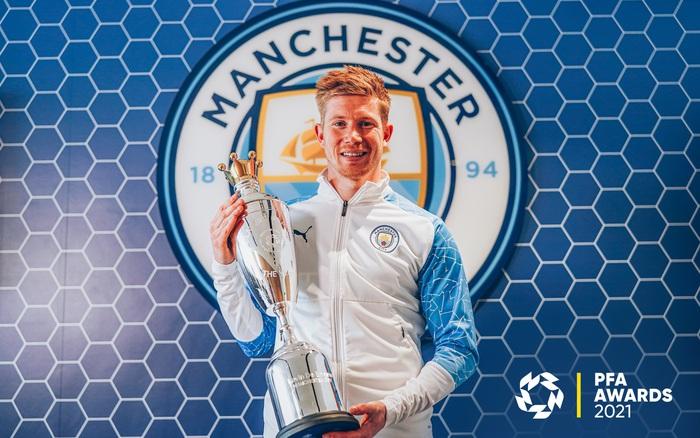 De Bruyne bảo vệ thành công danh hiệu Cầu thủ xuất sắc nhất Ngoại hạng Anh của PFA - Ảnh 1.