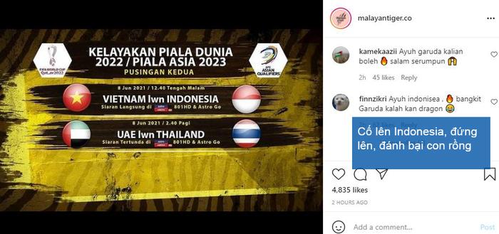 Nghe theo fake news, fan Malaysia cổ vũ Indonesia chiến thắng để thầy Park khăn gói về nước - Ảnh 4.