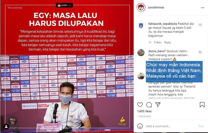 Nghe theo fake news, fan Malaysia cổ vũ Indonesia chiến thắng để thầy Park khăn gói về nước - Ảnh 5.