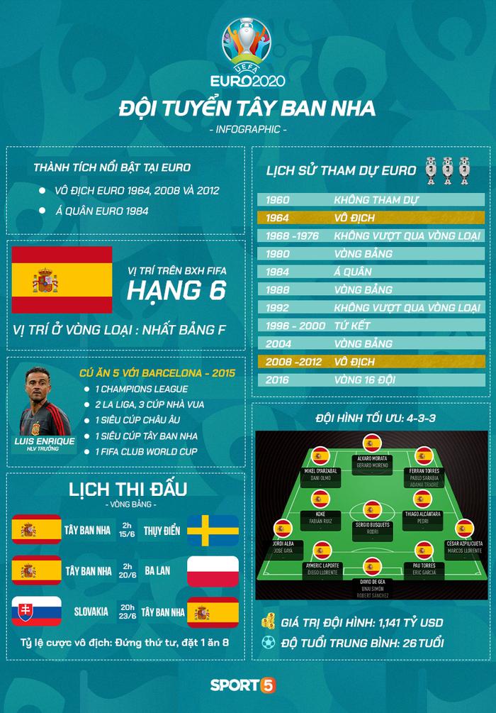 Top 5 đội tuyển có lực lượng hùng hậu nhất Euro 2020 - Ảnh 3.