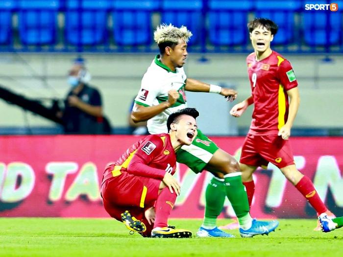 Quang Hải sẽ bị treo giò trong trận đấu gặp Malaysia - Ảnh 1.