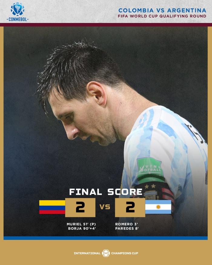 Messi tịt ngòi, tuyển Argentina đánh rơi 2 điểm ở giây cuối cùng - Ảnh 1.