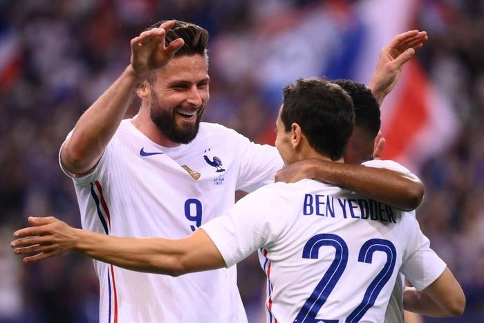 Giroud lập cú đúp trong ngày Benzema dính chấn thương, Pháp thắng trận giao hữu cuối trước Euro - Ảnh 12.