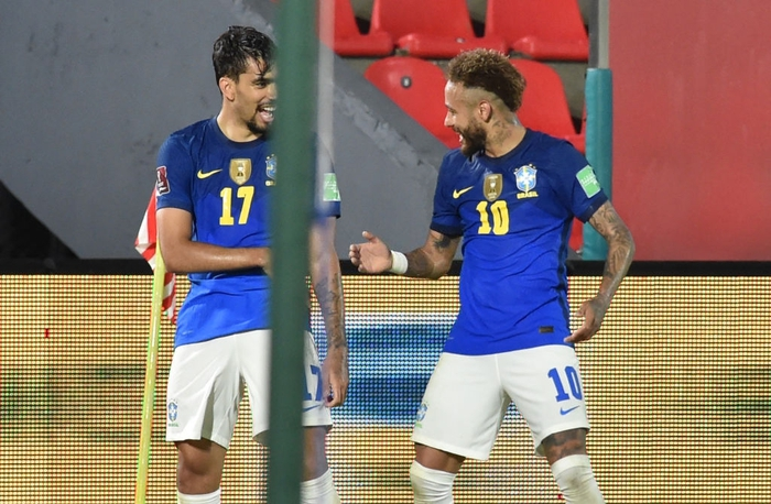 Neymar tỏa sáng rực rỡ, Brazil bay cao ở vòng loại World Cup - Ảnh 8.