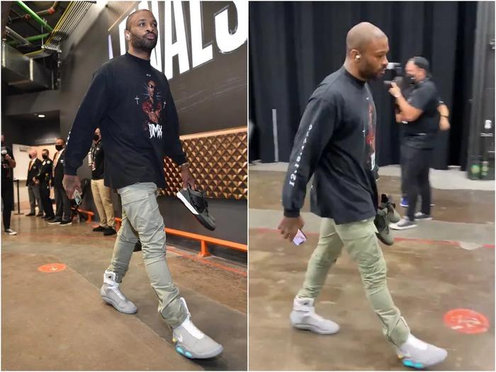 Ông hoàng sneaker PJ Tucker tiếp tục chơi trội tại chung kết NBA - Ảnh 2.