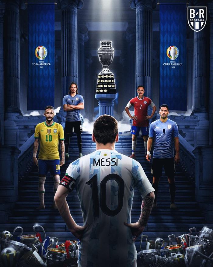 Chung kết Copa America 2021: Cái kết đẹp cho Lionel Messi? - Ảnh 1.
