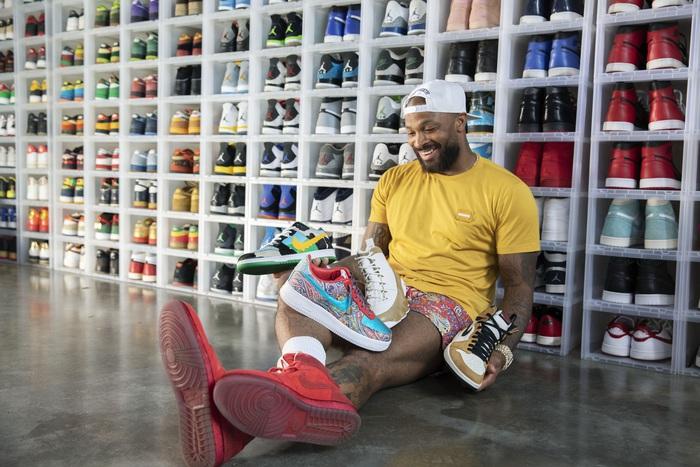Ông hoàng sneaker PJ Tucker tiếp tục chơi trội tại chung kết NBA - Ảnh 1.
