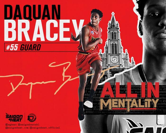 """DaQuan Bracey: """"Tôi luôn khao khát chiến thắng ở bất kỳ giải đấu nào"""" - Ảnh 1."""
