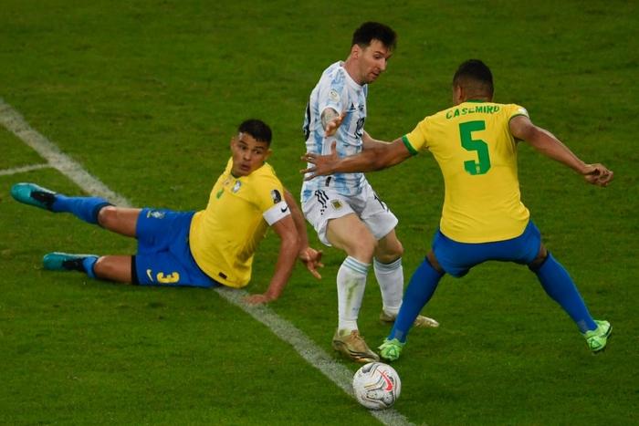 Hạ gục Brazil, Messi và đồng đội vô địch Copa America - Ảnh 3.