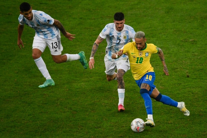 Hạ gục Brazil, Messi và đồng đội vô địch Copa America - Ảnh 1.