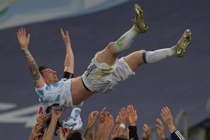 Hạ gục Brazil, Messi và đồng đội vô địch Copa America - Ảnh 9.