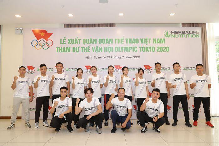 Lễ xuất quân của đoàn Thể thao Việt Nam tham dự Olympic 2020  - Ảnh 2.