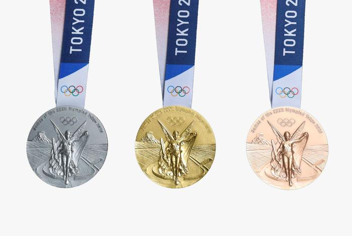 Bộ huy chương chính thức của Olympic 2020 có gì đặc biệt?