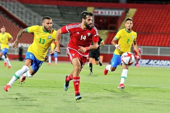 Giao hữu Olympic Brazil 5-2 Olympic UAE: Tài năng trẻ của Arsenal, Real Madrid ghi bàn - Ảnh 1.