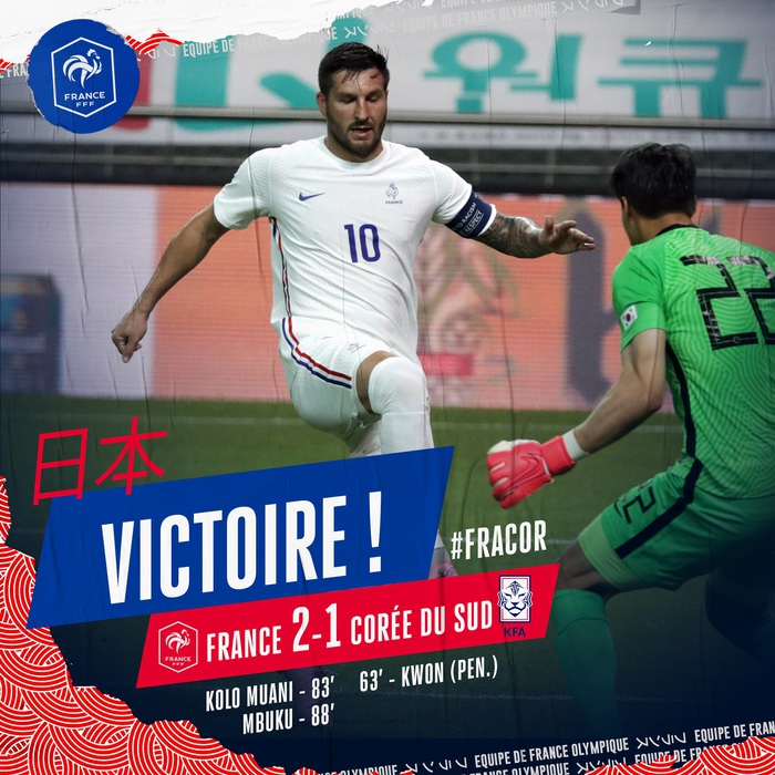 Giao hữu Olympic Hàn Quốc 1 - 2 Olympic Pháp: Thủ môn đội chủ nhà mắc sai lầm khó đỡ - Ảnh 5.