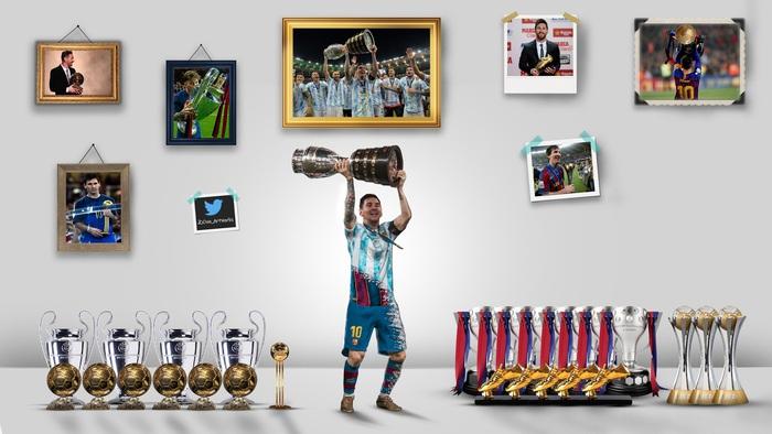Bức ảnh hiếm hoi Messi bị chiếm sóng, mọi ánh nhìn đổ dồn về bà xã Antonella mất rồi! - Ảnh 4.