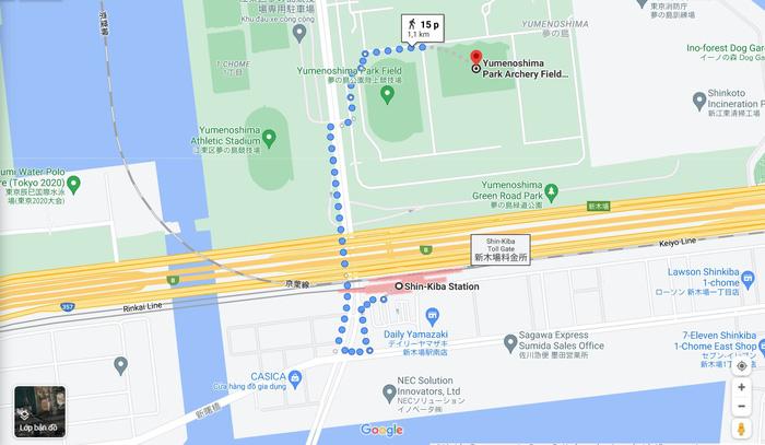 Thăm quan các địa điểm thi đấu của đoàn thể thao Việt Nam tại Olympic Tokyo 2020 - Ảnh 4.