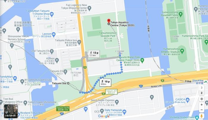 Thăm quan các địa điểm thi đấu của đoàn thể thao Việt Nam tại Olympic Tokyo 2020 - Ảnh 20.