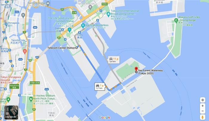 Thăm quan các địa điểm thi đấu của đoàn thể thao Việt Nam tại Olympic Tokyo 2020 - Ảnh 2.