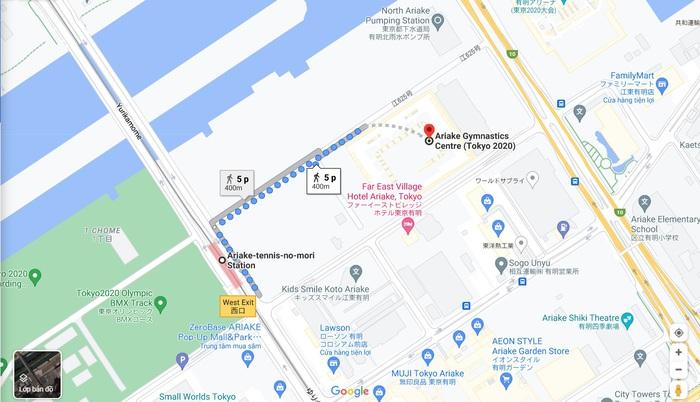 Thăm quan các địa điểm thi đấu của đoàn thể thao Việt Nam tại Olympic Tokyo 2020 - Ảnh 12.