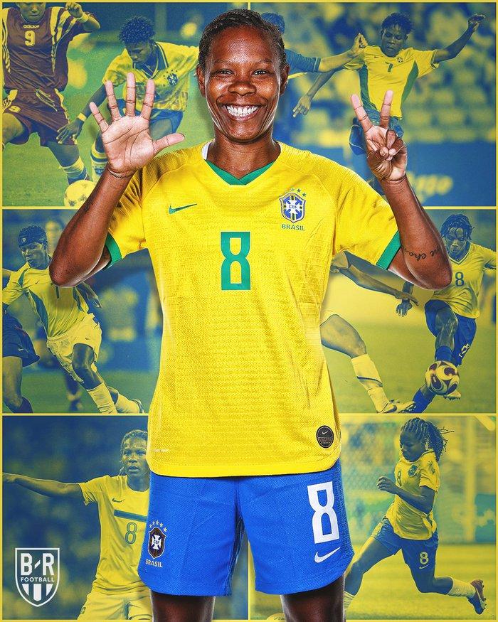 Hủy diệt tuyển Trung Quốc 5 bàn không gỡ, 2 nữ huyền thoại bóng đá Brazil lập kỷ lục Olympic - Ảnh 4.