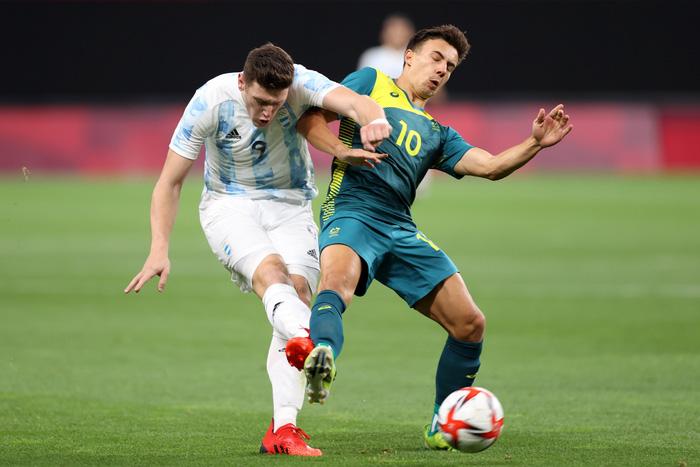 Argentina thua bạc nhược trận ra quân Olympic 2020 - Ảnh 7.