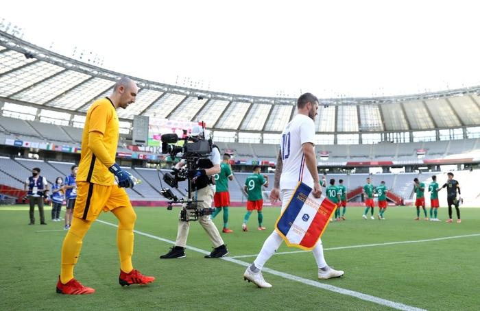 """""""Vùi dập"""" đội tuyển Pháp với tỷ số khó tin 4-1, Mexico ra quân ấn tượng tại Olympic 2020 - Ảnh 1."""
