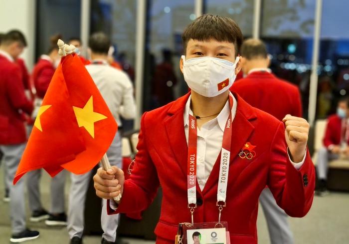 VĐV Việt Nam phấn khích trước giờ khai mạc Olympic Tokyo 2020 - Ảnh 3.