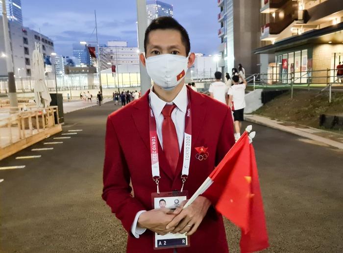 VĐV Việt Nam phấn khích trước giờ khai mạc Olympic Tokyo 2020 - Ảnh 4.
