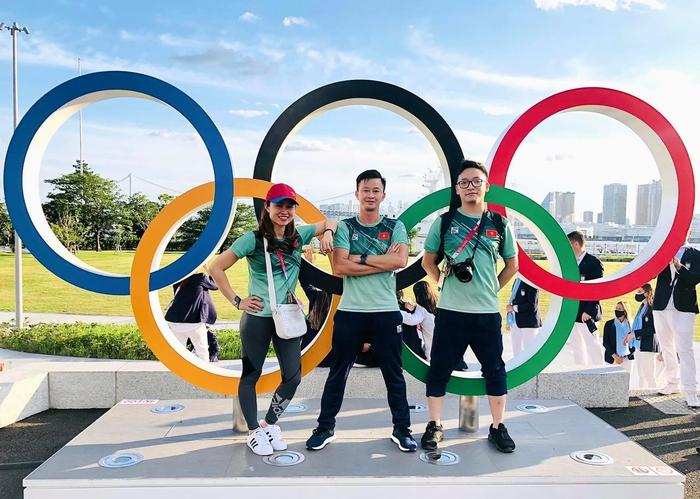 VĐV Việt Nam phấn khích trước giờ khai mạc Olympic Tokyo 2020 - Ảnh 6.