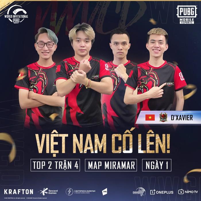 """Đại diện Việt Nam """"xử đẹp"""" Natus Vincere, vươn lên top 4 tại giải thế giới PUBG Mobile - Ảnh 3."""
