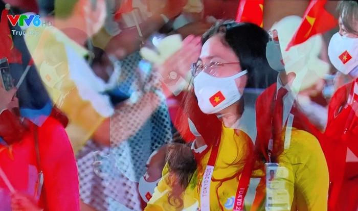 Tự hào hình ảnh Đoàn thể thao Việt Nam xuất hiện ở lễ khai mạc Olympic Tokyo 2020 - Ảnh 3.