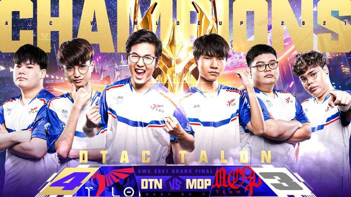 Đại diện Thái Lan dtac Talon trở thành nhà vô địch thế giới tại giải đấu AWC 2021 - Ảnh 5.