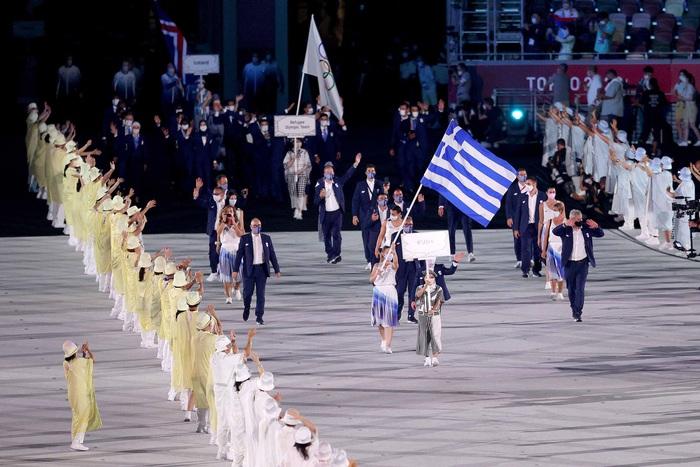 VĐV Việt Nam phấn khích trước giờ khai mạc Olympic Tokyo 2020 - Ảnh 10.