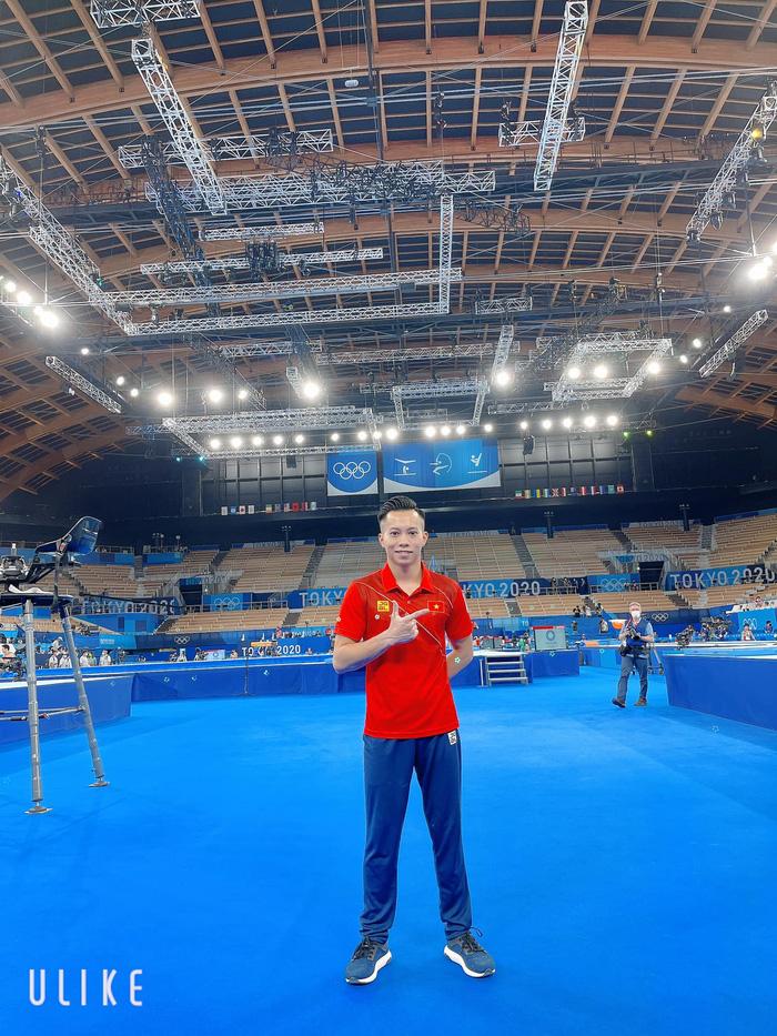 """Nam thần thể dục dụng cụ Việt Nam: """"Em đã rất cố gắng, Olympic là ước mơ, tự hào của em"""" - Ảnh 1."""