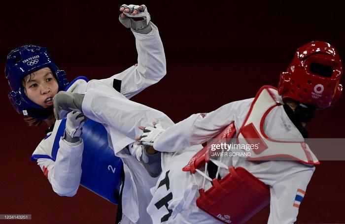 Trực tiếp Olympic Tokyo ngày 24/7: Kim Tuyền thất bại trước đối thủ Thái Lan ở tứ kết Taekwondo - Ảnh 1.