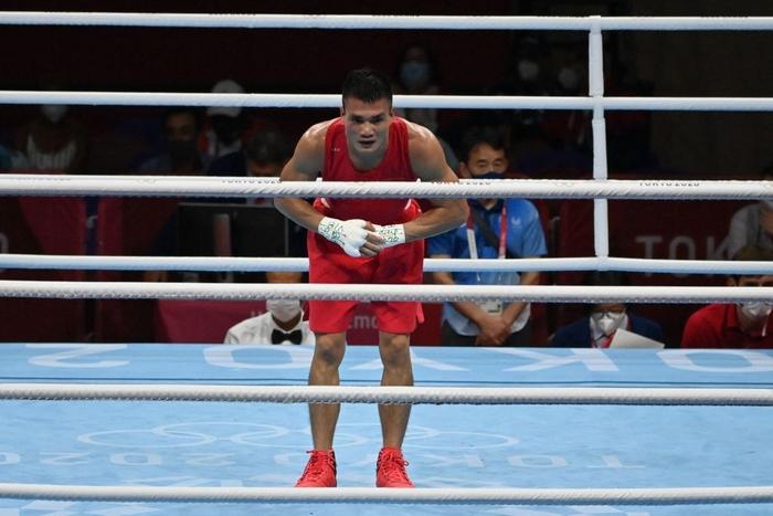 Ảnh: Nguyễn Văn Đương vượt qua đối thủ mạnh, giúp boxing Việt Nam có chiến thắng lịch sử sau 33 năm - Ảnh 10.