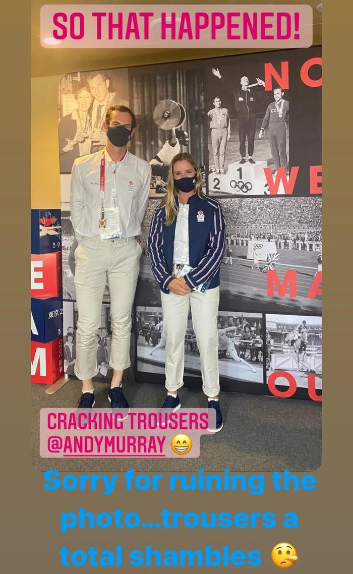 Andy Murray gây chú ý khi chụp chung với nữ VĐV đồng hương trước thềm Olympic - Ảnh 1.