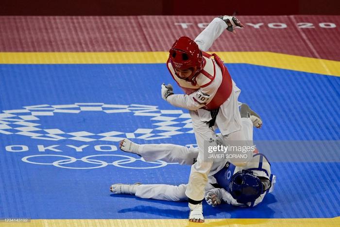 Nỗ lực đến đổ máu, Kim Tuyền (Taekwondo) phải dừng bước tiếc nuối ở Olympic Tokyo 2020 - ảnh 8