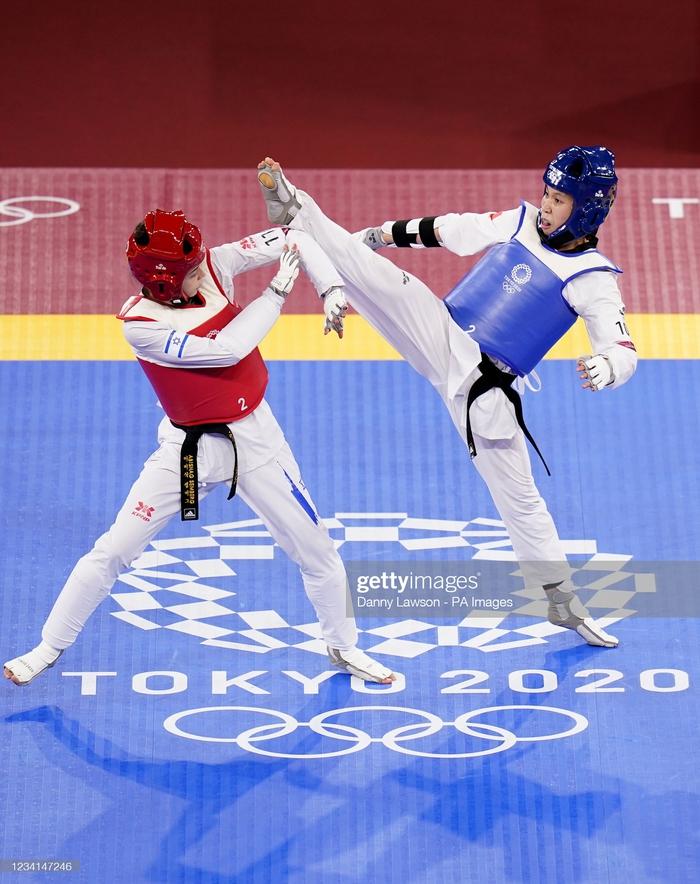 Nỗ lực đến đổ máu, Kim Tuyền (Taekwondo) phải dừng bước tiếc nuối ở Olympic Tokyo 2020 - ảnh 9
