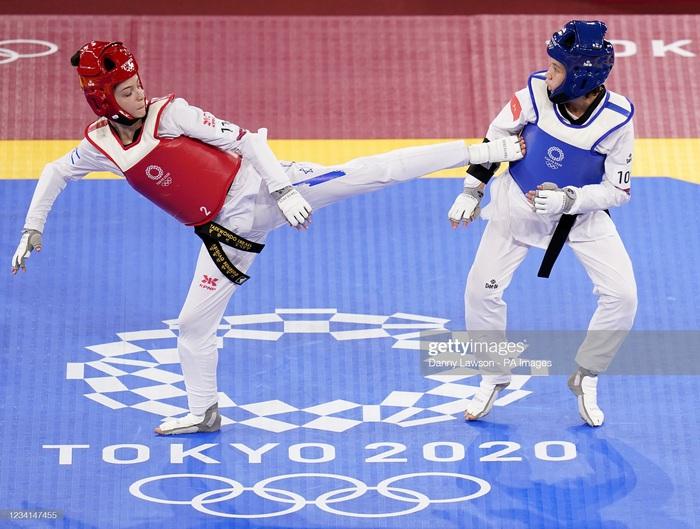 Nỗ lực đến đổ máu, Kim Tuyền (Taekwondo) phải dừng bước tiếc nuối ở Olympic Tokyo 2020 - ảnh 10