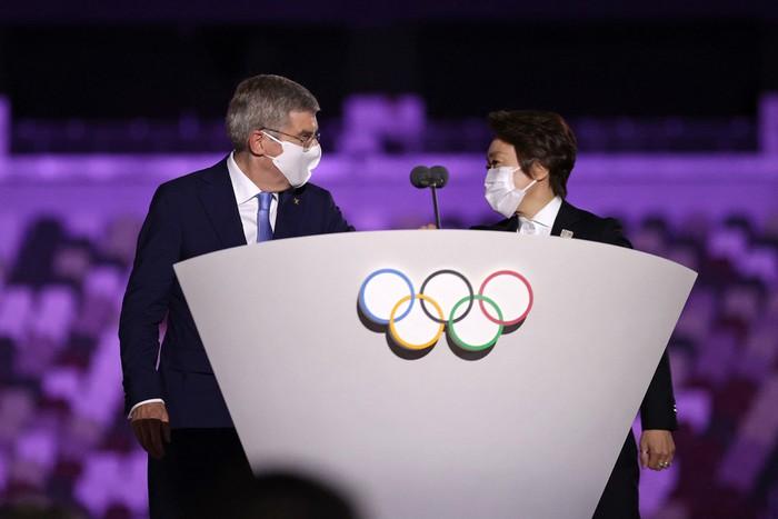 Lễ khai mạc Olympic Tokyo 2020 bị lố giờ vì phần phát biểu dài 20 phút - Ảnh 2.