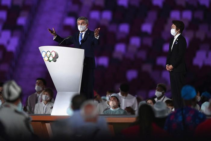 Lễ khai mạc Olympic Tokyo 2020 bị lố giờ vì phần phát biểu dài 20 phút - Ảnh 1.